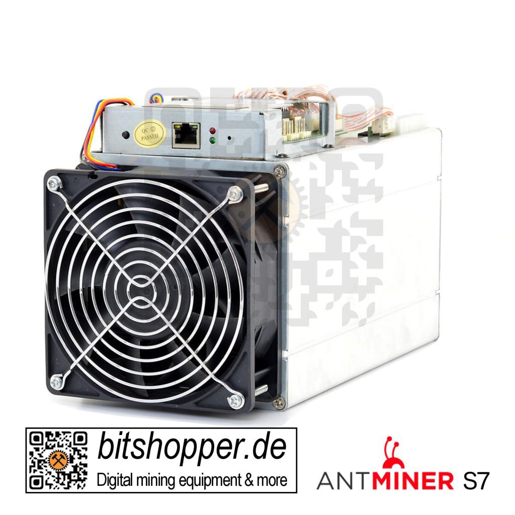 Bitcoin-Miner Bitmain AntMiner S7 ASIC Miner 4,73 TH/s