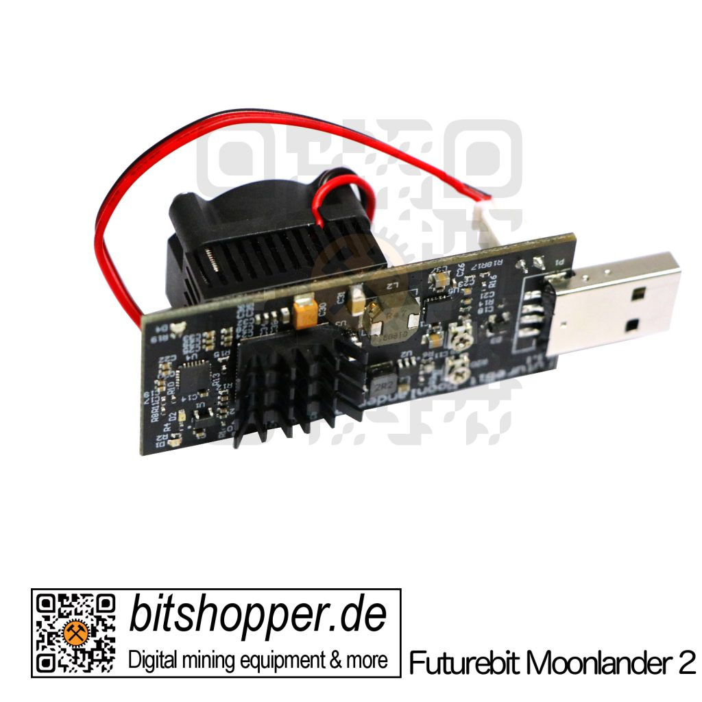 Scrypt USB-Stick Miner bitshopper Futurebit Moonlander 2 (3-5 MH/s)
