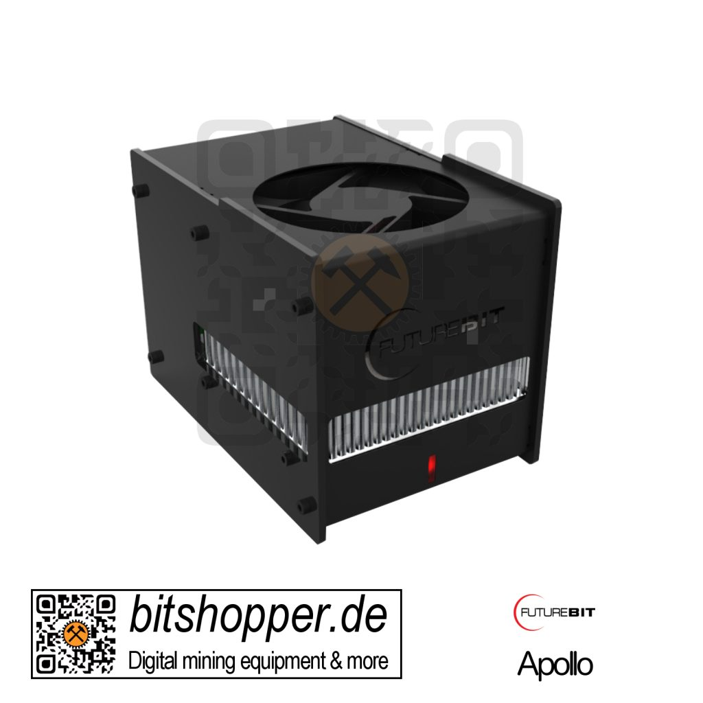Scrypt Pod Miner bitshopper Futurebit Apollo (100-140 MH/s)