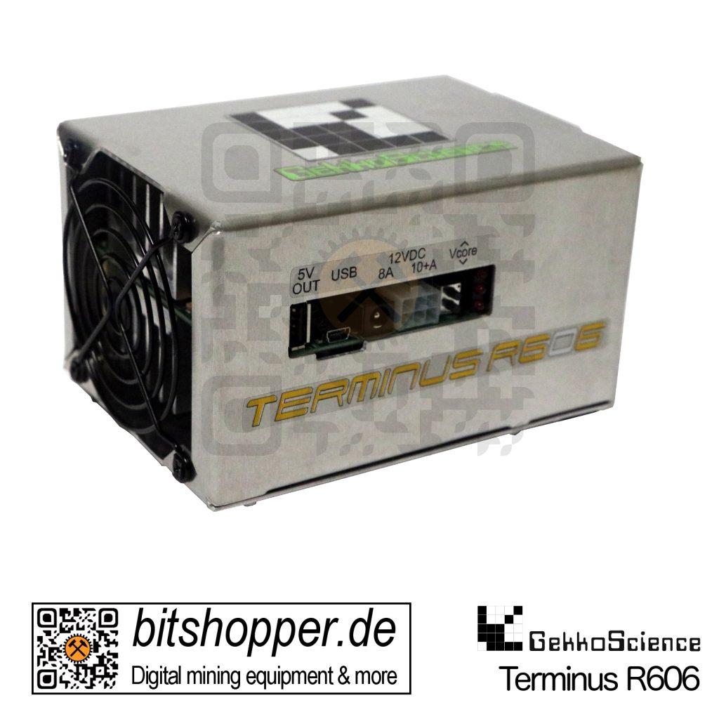 Bitcoin Pod Miner bitshopper GekkoScience Terminus R606