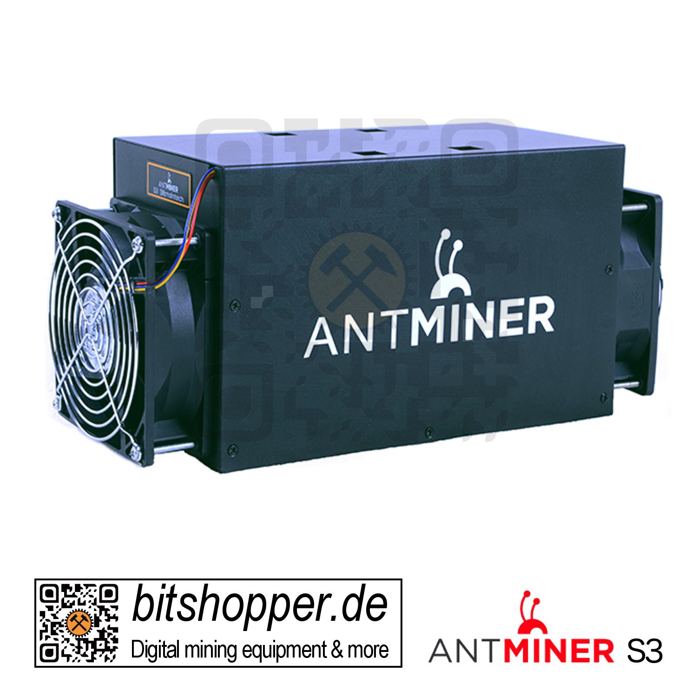 antminer s3 mining bitcoins