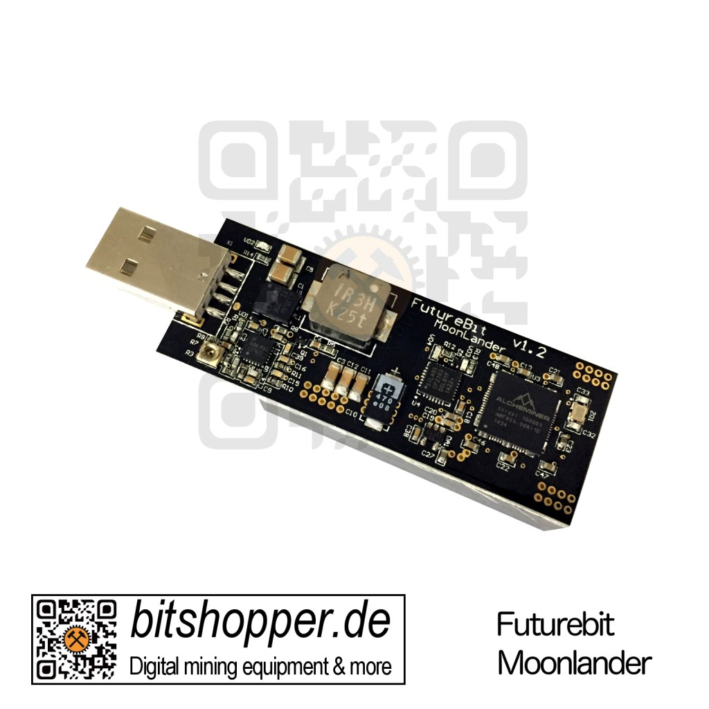 USB Stick SCRYPT Miner FutureBit Moonlander bis 1 MH/s