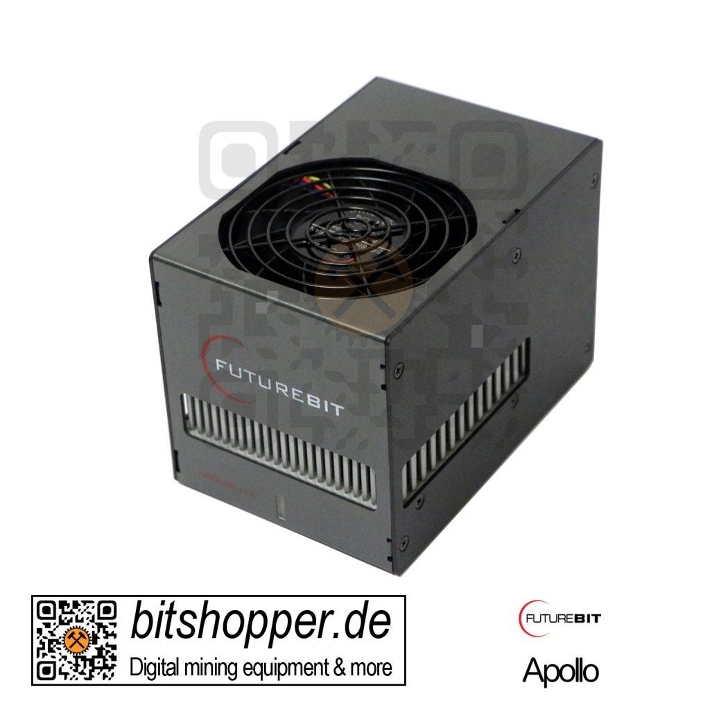 Scrypt Pod Miner bitshopper Futurebit Apollo (100-140 MH/s) - Batch 2